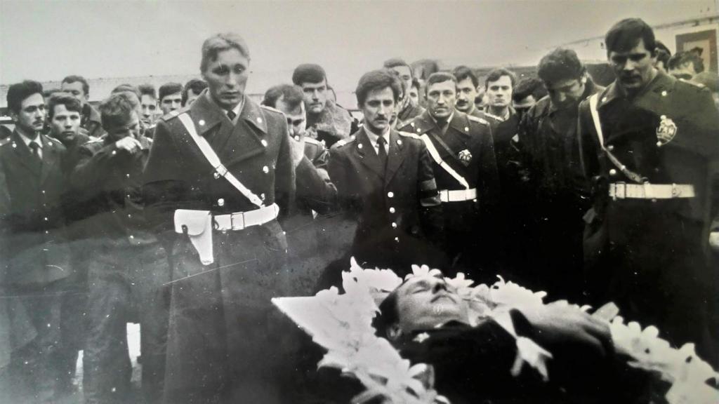 Похороны Акиньшина