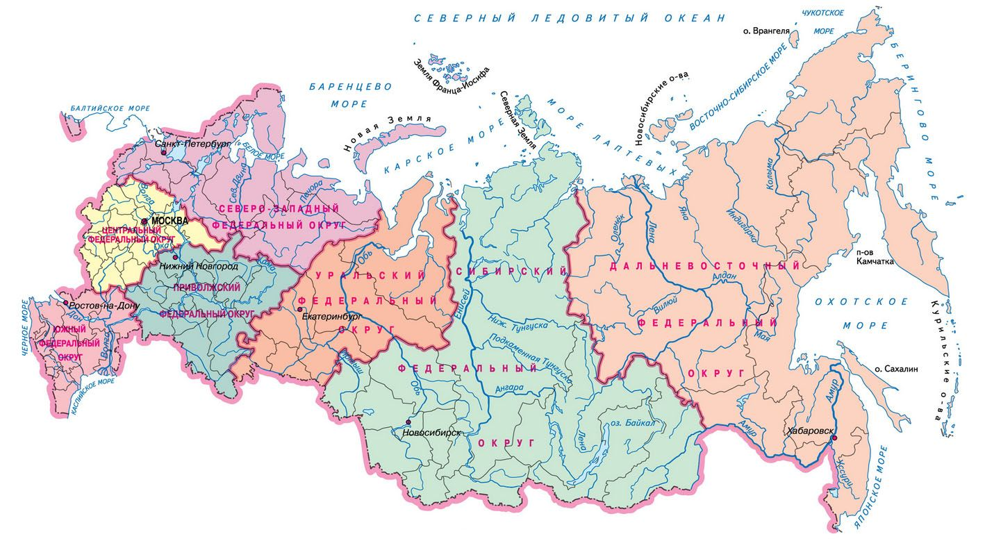 Борьба с оргпреступностью на территории России